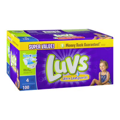 Luvs Diapers Size 4 - 100 CT