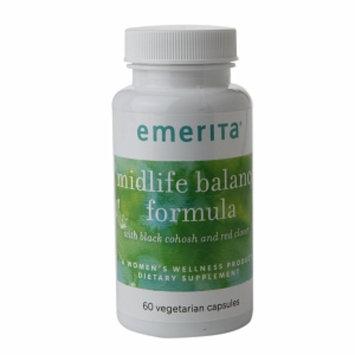 Emerita Midlife Balance Formula with Black Cohosh, Capsules, 60 ea
