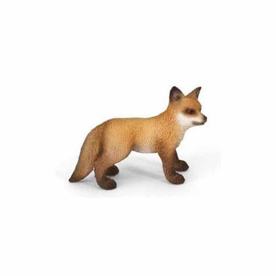 Red Fox Kit Figurine by Schleich - 14649