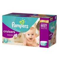 Pampers Cruisers Diapers Giant Pack - Size 3 (128 Count)