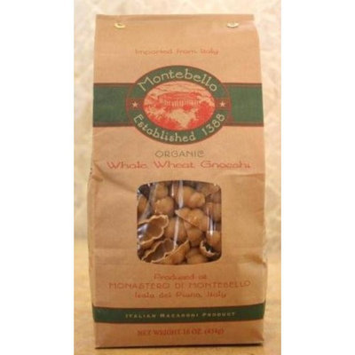 Garden Time Organic Montebello Organic Artisan Pasta from Italy, Whole Wheat Gnocchi, 1-Pounds (Pack of 5)