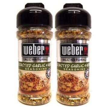 Weber Garlic And Herb Seasoning Pork Chicken 6.25 Oz.