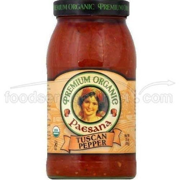 Paesana Sauce Tuscan Pppr Org 25 Oz (Pack of 6)