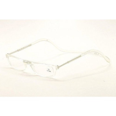 Clic Reading Glasses - Clear Magnetic Eyewear1.75