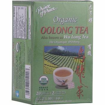Prince of Peace Organic Oolong Tea 20 Tea Bags