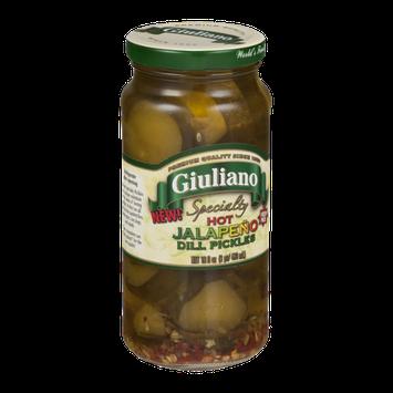 Giuliano Specialty Hot Jalapeno Dill Pickles
