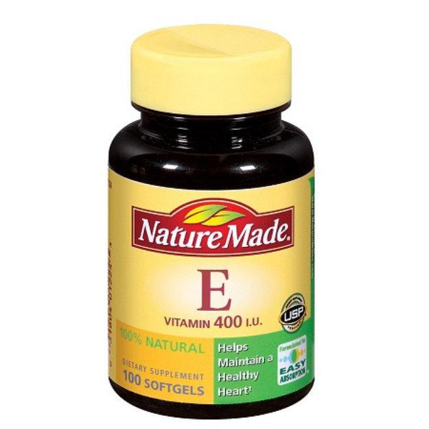 Nature Made 100% Natural Vitamin E