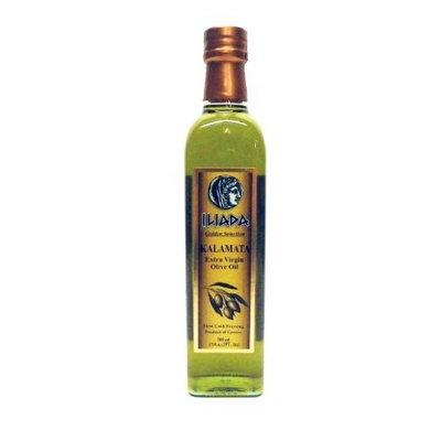 Iliada Kalamata Greek Extra Virgin Olive Oil , 17-Ounce Glass Bottles (Pack of 3)
