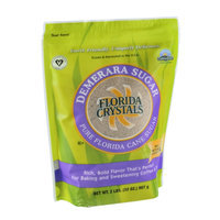 Florida Crystals Demerara Sugar Pure Floirda Cane Sugar