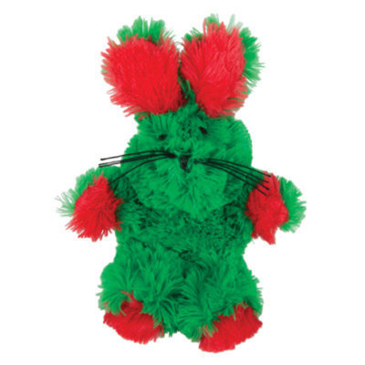KONGA Fuzzy Bunny Holiday Cat Toy