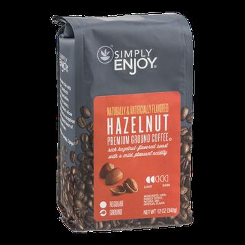 Simply Enjoy Ground Coffee Hazelnut