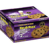 Tri-O-Plex Oatmeal Raisin Cookies