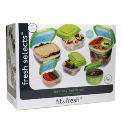 Fit And Fresh Fit & Fresh Fresh Selects 17-pc. Container Set