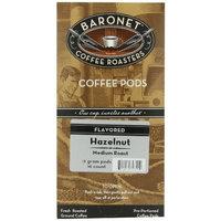 Baronet Coffee Hazelnut Medium Roast (12 g) Coffee Pods, 16-Count Pods (Pack of 3)