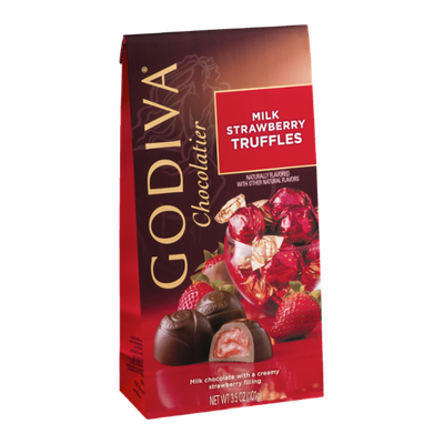 Godiva Milk Strawberry Truffles