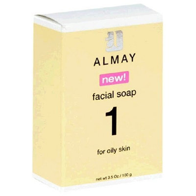 Almay Facial Soap for Oily Skin, 3.5-Ounce Package