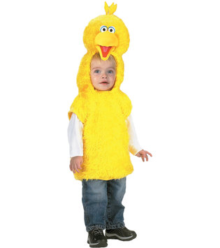 Wmu WMU 566627 1 - 2 Big Bird Vest Costume