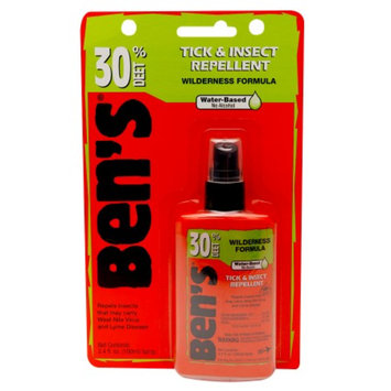 Ben's 30% Deet Carded Pump, 3.4 oz