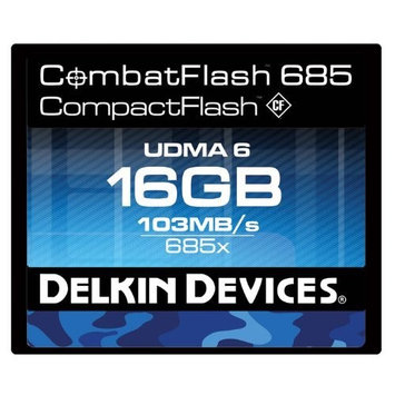 Delkin Devices DDCFCOMBAT68516GB
