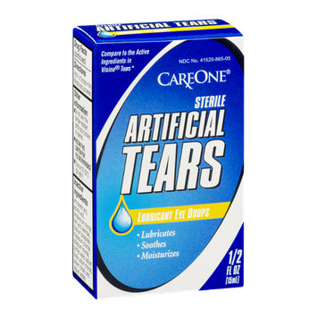 CareOne Sterile Artificial Tears Lubricant Eye Drops