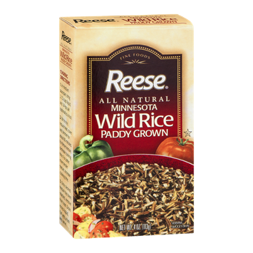 Reese Minnesota Wild Rice Paddy Grown