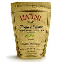 Lucini Italia Traditional Cinque E' Cinque, 250-Gram Pouches (Pack of 4)