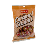 Giant Goetze's Caramel Creams Candy