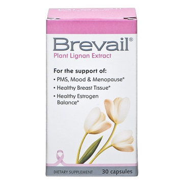 Brevail Plant Lignan Extract, Capsules, 30 ea