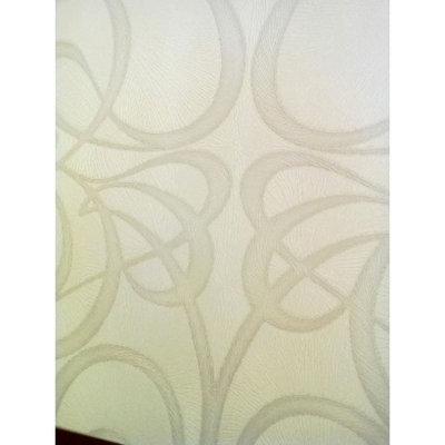 Graham & Brown Jazz Wallpaper - White/ Silver