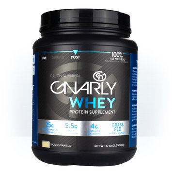 Blue Earth Nutrition Gnarly Nutrition - Whey Protein Grass Fed Chiseled Chocolate - 32 oz.