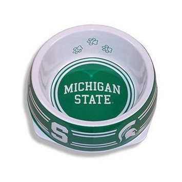 Sporty K9 Michigan State Dog Bowl, Small