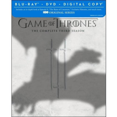 Game Of Thrones: The Complete Third Season (Blu-ray + DVD + Digital Copy) (Widescreen)