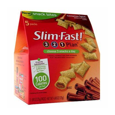 Slim-Fast Snack Bites 5-Pack Cinnamon Spice