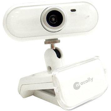 Macally ICECAM2 USB 2.0 Web Camera with Mic White