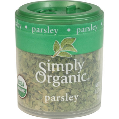 Simply Organic Certified Organic Parsley Leaf Flakes