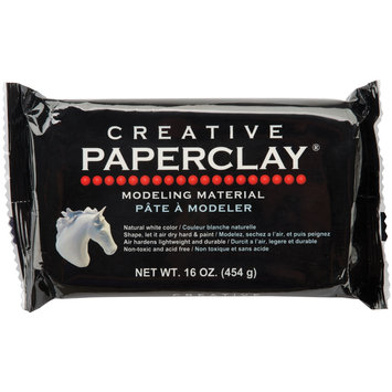 Creative Paperclay 157050 Creative Paperclay 16 Ounces-White