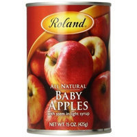 Roland Baby Apples In Light Syrup, 15-Ounce Cans (Pack of 12)