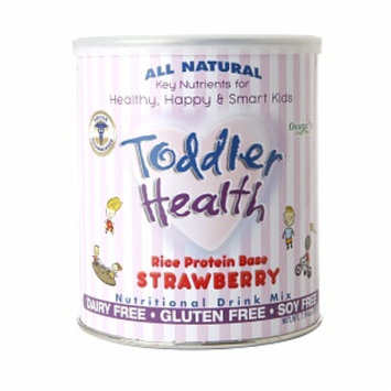 Toddler Health Rice Protein Base Nutritional Drink Mix, Strawberry, 7.94 oz