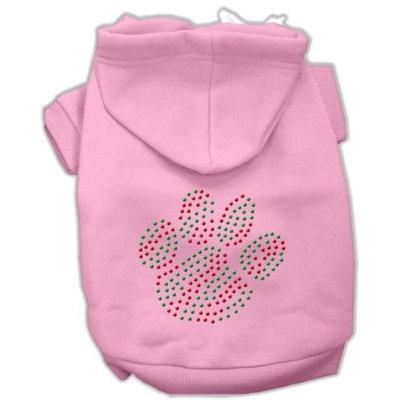 Mirage Pet Products 542517 XSPK Holiday Paw Hoodies Pink XS 8