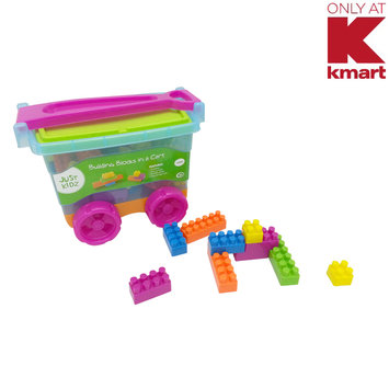 Agglo/ja-ru Corp. Just Kidz Building Blocks in a Cart