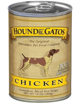 Gamewear Inc Hound and Gatos Homestyle Chicken Recipe Canned Dog Food