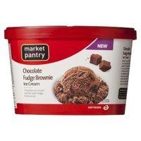 market pantry Market Pantry Chocolate Fudge Brownie Ice Cream 1.5-qt.