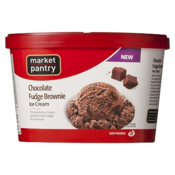 market pantry Market Pantry Chocolate Fudge Brownie Ice Cream 1.5-qt.