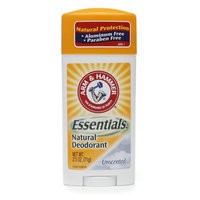Arm & Hammer Essentials Natural Deodorant Unscented