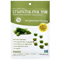 Eda-zen Crunch Ma Me Freeze-Dried Edamame Veggie Snack, 0.7 oz, (Pack of 8)