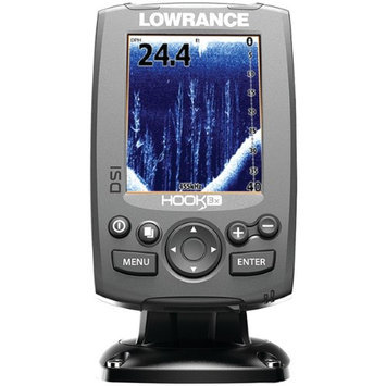 Lowrance 000-12636-001 Hook-3x Dsi Fishfinder With Transducer