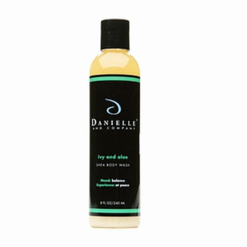 Danielle and Company Organic Body Wash, Ivy and Aloe, 8 fl oz