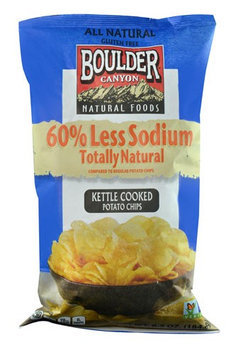Boulder Canyon Natural Foods Kettle Cooked Potato Chips 6.5 oz
