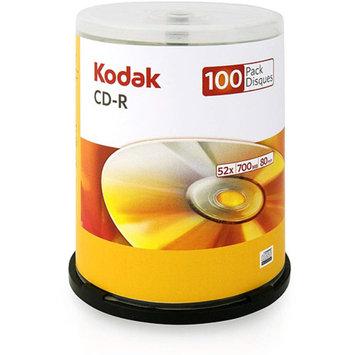Kodak 52x Write-Once CD-R - 100 pack