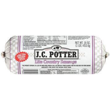 J.C. Potter Lite Country Premium Quality Sausage, 16 oz